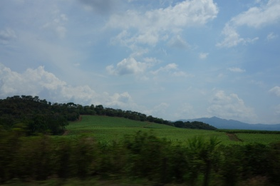Long drive from San Jose to Arenal area